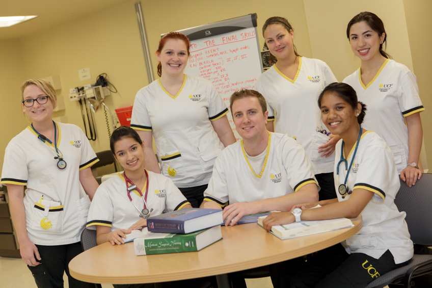 students who work at Community nursing coalitions in central Florida