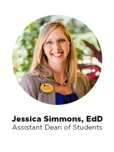 Jessica Simmons, assistant dean of students, UCF College of Nursing