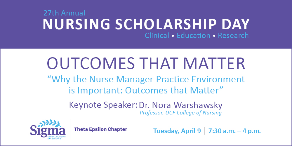 Nursing Scholarship Day