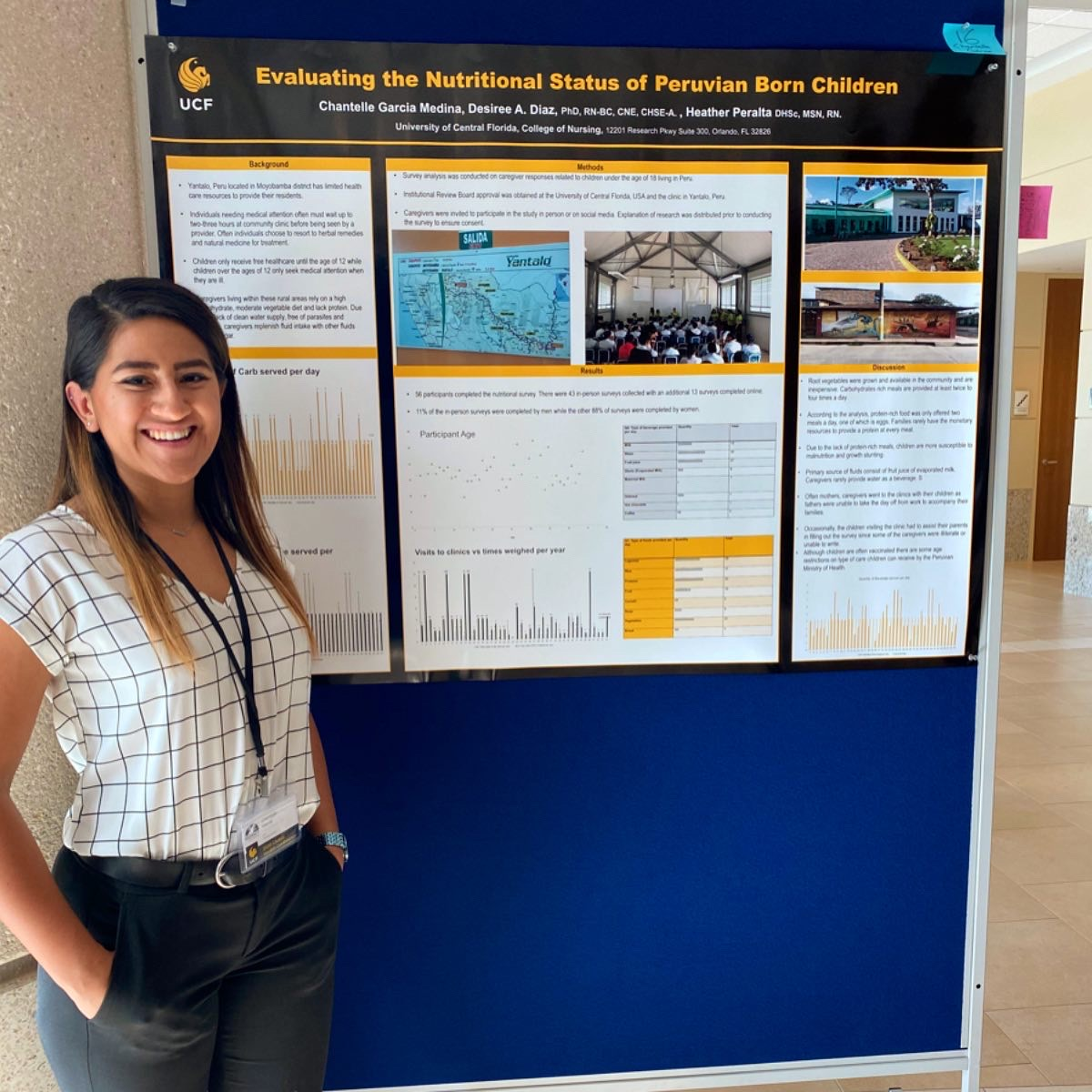 Ucf College Of Nursing >> BSN Graduate's Research Inspires a New Generation - UCF ...