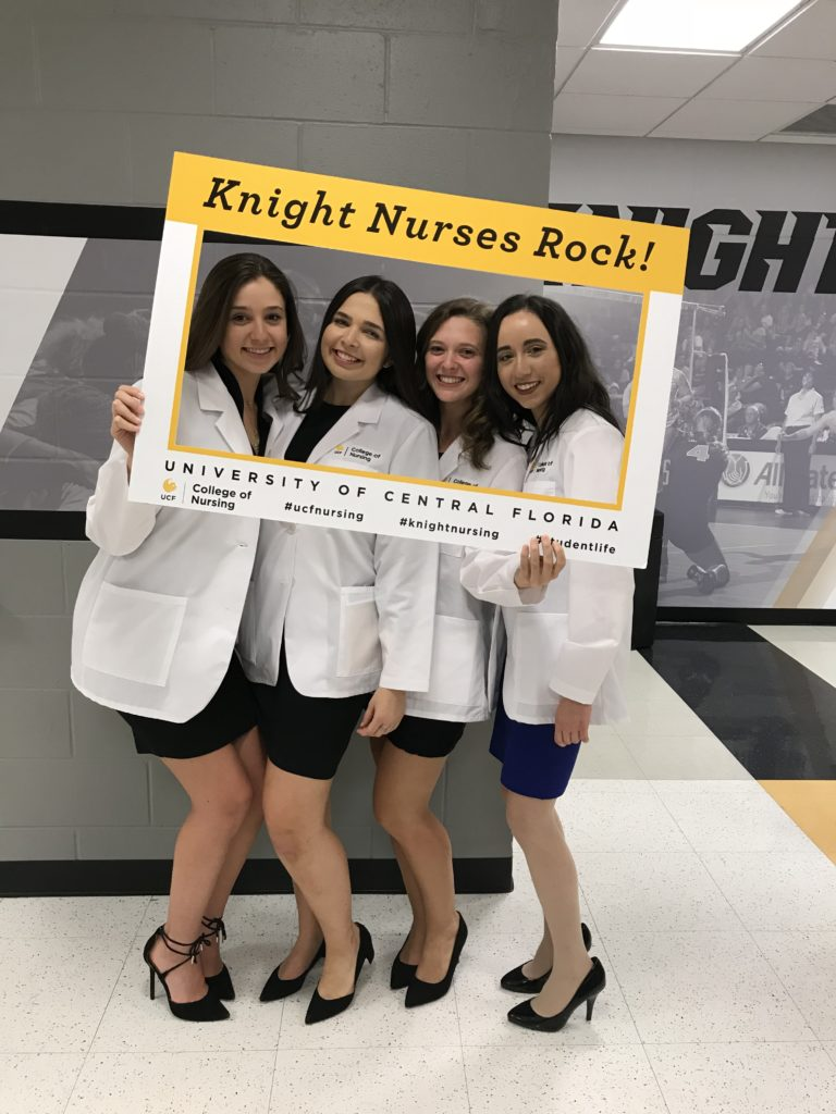 UCF nursing students, Orlando campus