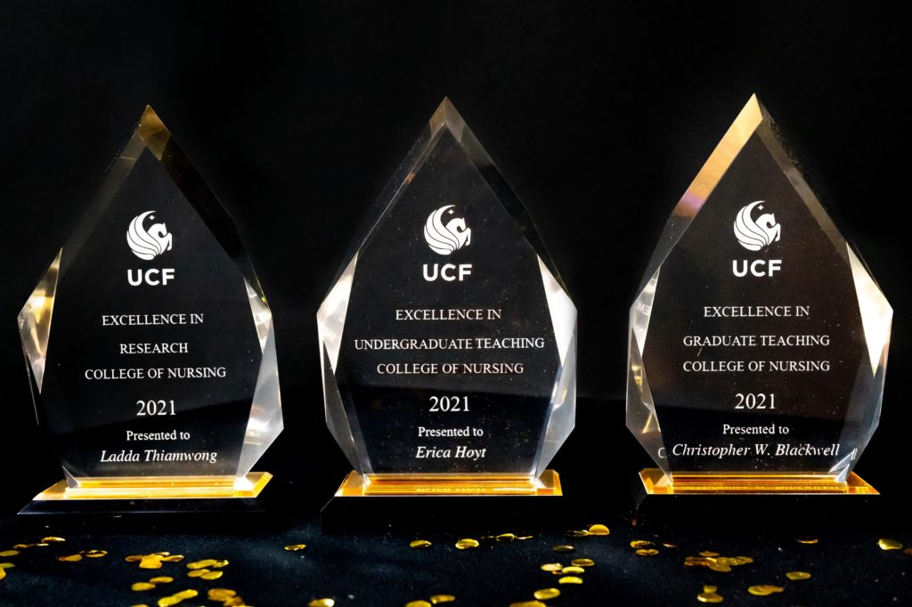 Celebrating Excellence: Nursing Faculty and Student Honored at UCF Founders' Day