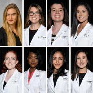 8 UCF BSN graduates in the spring Class of 2021 who achieved a perfect 4.0 GPA
